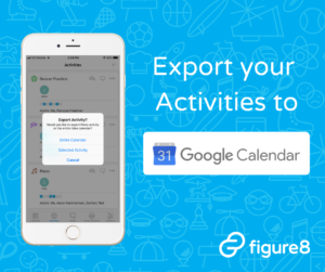 Iphone Figure8 App with Google Calendar